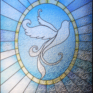 PV09069 Dove Stained Glass 2