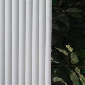 White Fading Mini Blind R02007