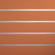 Burnt Orange Horizontal Lines