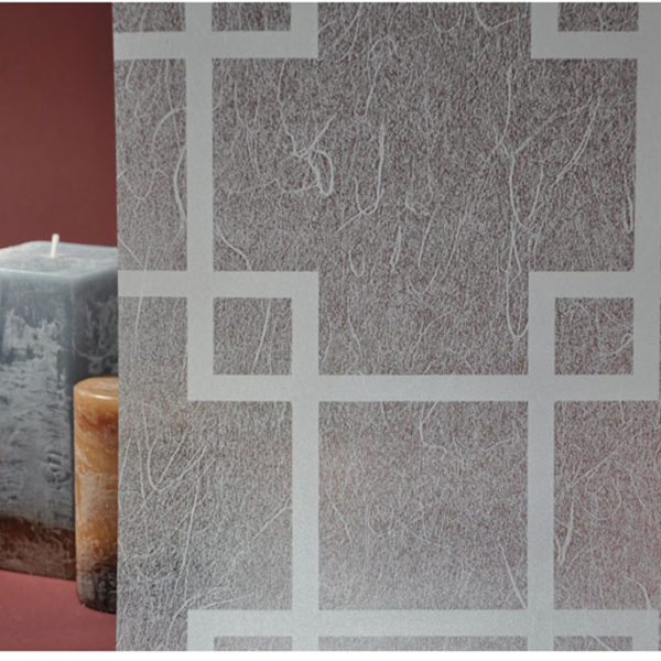White Gossamer Squares R03003