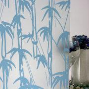 Bamboo Shoots Sandblast Blue