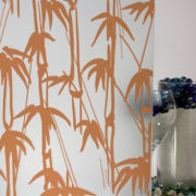 Bamboo Shoots Sandblast Burnt Orange