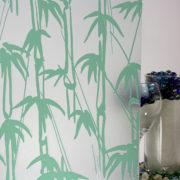 Bamboo Shoots Sandblast Sea Green
