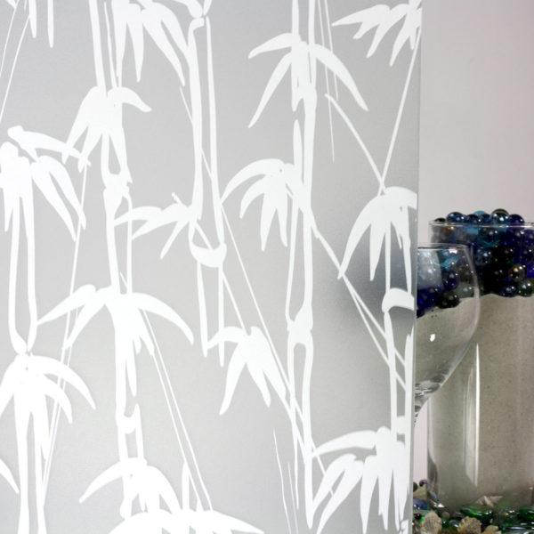 Bamboo Shoots Sandblast White