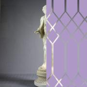 Diamonds Tudor Style Lavender
