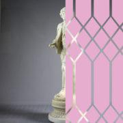 Diamonds Tudor Style Orchid