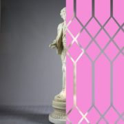 Diamonds Tudor Style Pink