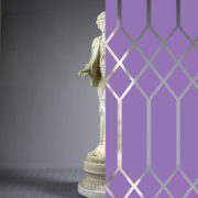 Diamonds Tudor Style Purple