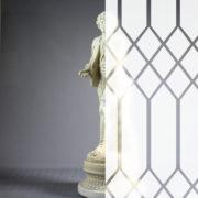 Diamonds Tudor Style White Frost