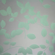 Privacy Leaves Sandblast Sea Green