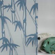 Bamboo Shoots on Gossamer Blue