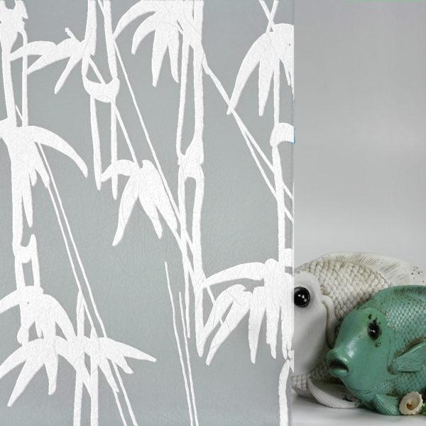 Bamboo Shoots on Gossamer White