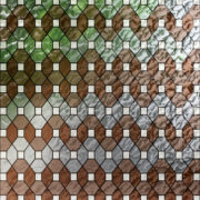PV09031 Leaded Glass Brown