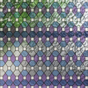 PV09032 Leaded Glass Blue And Purple