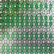 PV09036 Leaded Glass Green