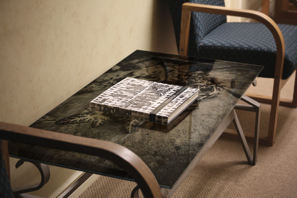 Photo Glass Table